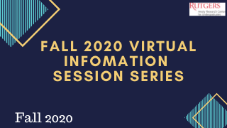 Fall 2020 Virtual Information Session Series