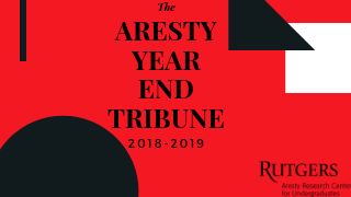 Aresty Year End Tribune flyer