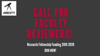 Flyer for Call for Faculty Reviewers