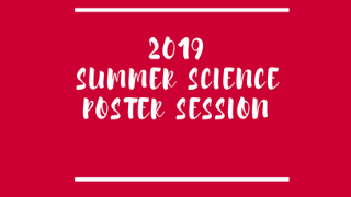2019 Summer Science Poster Session